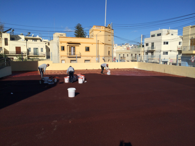 Works done at St Benedict College